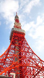Tokyo tower red and white color . Stock Photo