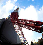 Tokyo tower red and white color . Stock Image
