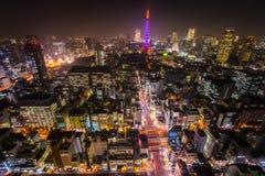 Tokyo Tower, Tokyo, Japan. Stock Image
