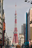 Tokyo tower  in Tokyo, Japan Stock Photos