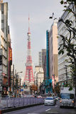 Tokyo tower  in Tokyo, Japan Royalty Free Stock Photo