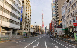 Tokyo tower in Tokyo, Japan Royalty Free Stock Photos