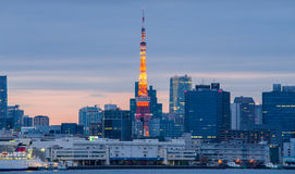 Tokyo Tower in Tokyo, Japan. Stock Photography