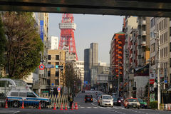 Tokyo tower in Tokyo, Japan Stock Photography