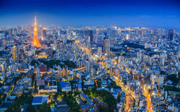 Tokyo Tower At Twilight Stock Image