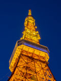 Tokyo Tower in twilight time Royalty Free Stock Photos