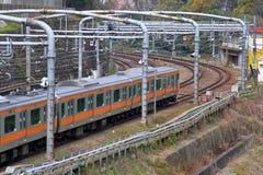 Tokyo Train Stock Image