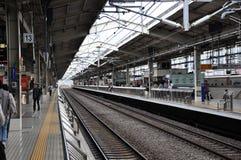 Tokyo train station Stock Photo