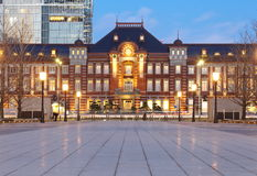 Tokyo train station Royalty Free Stock Photography