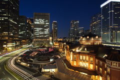 Tokyo train station Stock Photography