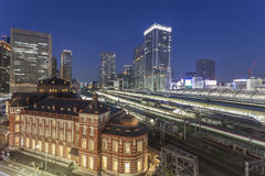 Tokyo Train Station, Tokyo city, Japan Stock Photography