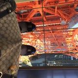 Tokyo-Turmhimmelschritt Stockfotografie
