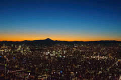 Tokyo twilight Stock Images