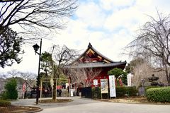 Japan Tokyo Ueno Park Temple stock image