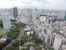 Tokyo uppifrån arkivfoton