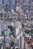 Tokyo urban sprawl Stock Photo