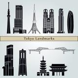 Tokyo V3 Landmarks Stock Images