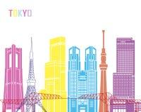 Tokyo V3 skyline pop Stock Images