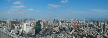 Tokyo From a View Stock Image