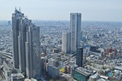 Tokyo view Stock Images
