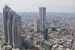 Tokyo view. From Tokyo metropolis office Royalty Free Stock Photo