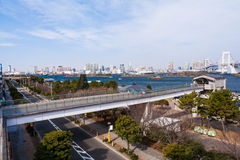 Tokyo view from Odaiba Stock Images