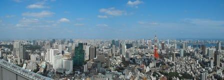 Tokyo von einer Ansicht Stockbild