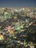 Tokyo von oben Stockbild