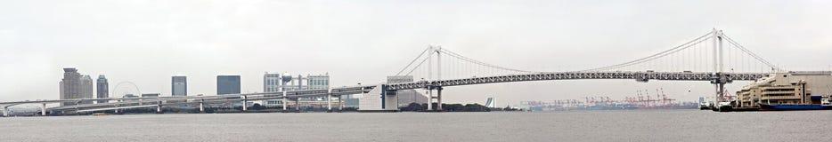 Tokyos Regenbogen-Brücke Stockfoto