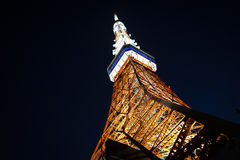 Tokyotower royaltyfria foton