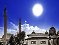 Tolérance religieuse et coexistence Photo libre de droits
