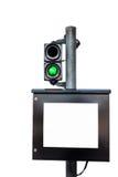 Tol-prijs monitor Royalty-vrije Stock Foto