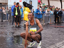 Tola Shura Kitata wygrywa 23rd maraton w Rzym Fotografia Royalty Free