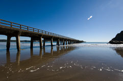 Tolaga Bay Wharf Stock Photography
