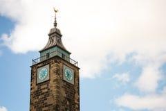 Tolbooth大厦在老镇,斯特灵,苏格兰 这 图库摄影