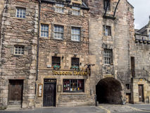 Tolbooth Tavern, Canongate Tolbooth, Edinburgh Royalty Free Stock Photo