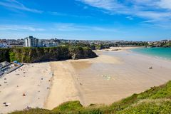 Tolcarne Beach Newquay Cornwall England Stock Photography
