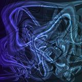 Tolden lichtgevende lichtblauwe achtergrond Royalty-vrije Stock Afbeelding