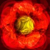 Tolden lichtgevende lichte putple abstracte achtergrond Royalty-vrije Stock Fotografie