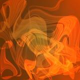 Tolden lichtgevende lichtoranje abstracte achtergrond Stock Afbeelding