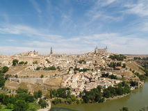 Toledo. View on the city of Toledo, Spain Royalty Free Stock Images