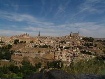 Toledo. View on the city of Toledo, Spain Stock Images