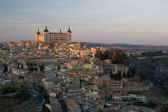 Toledo. View of Toledo, Spain including the Alcazar Royalty Free Stock Image