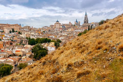 Toledo. Aerial view of the city. Stock Photo