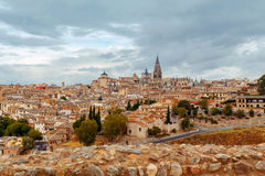Toledo. Aerial view of the city. Royalty Free Stock Photography