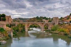 toledo Alcantara-Brücke Lizenzfreie Stockfotos