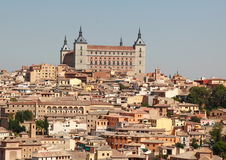 Toledo Alcazar Royalty Free Stock Photo