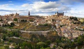 Toledo - Alcazar Stock Photography