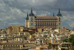 Toledo Alcazar Royalty Free Stock Images
