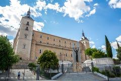 Toledo alcazar Stock Photo